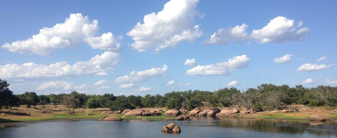 Clouds in Granite Lake